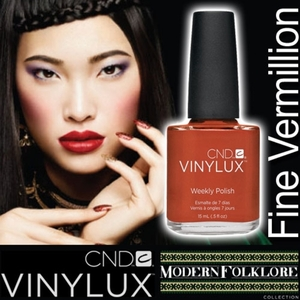 CND VINYLUX 2014 Modern Folklore Collection - Fine Vermilion / 0.5 oz.