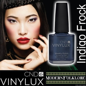 CND VINYLUX 2014 Modern Folklore Collection - Indigo Frock / 0.5 oz.