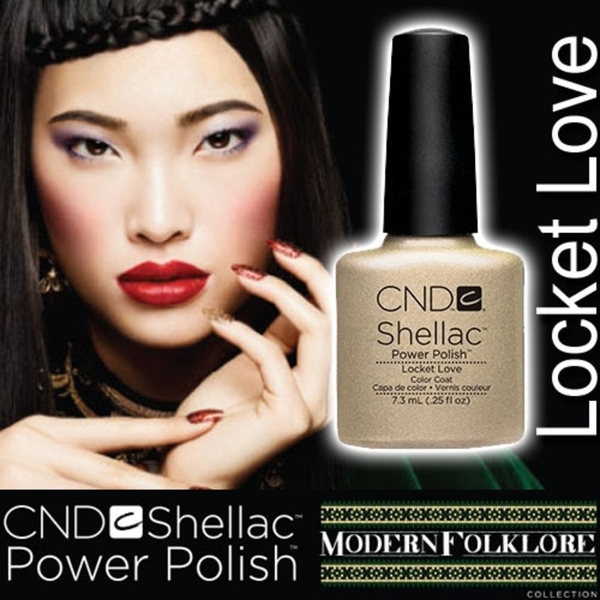 CND Shellac Locket Love 0.25 oz. - 7.3 mL - The 14 Day Manicure is Here!