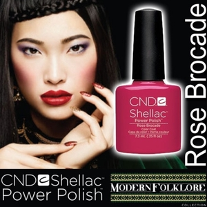 CND Shellac Rose Brocade 0.25 oz. - 7.3 mL - The 14 Day Manicure is Here!