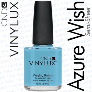 CND VINYLUX Azure Wish 0.5 oz. (800335)