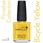 CND VINYLUX 2014 Paradise Summer Collection - Bicycle Yellow 0.5 oz. (800337)