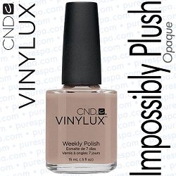 CND VINYLUX Impossibly Plush 0.5 oz. (800360)
