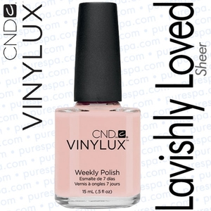 CND VINYLUX Lavishly Loved 0.5 oz. (800361)