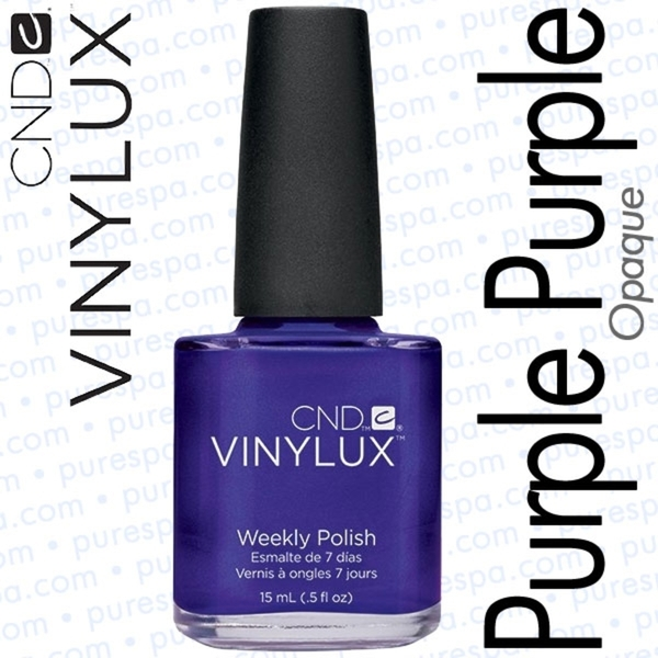CND VINYLUX Purple Purple 0.5 oz. (800375)