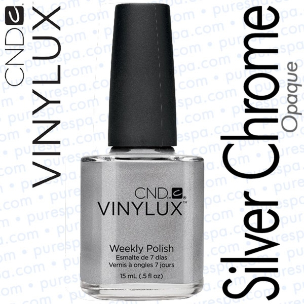 CND VINYLUX Silver Chrome 0.5 oz. (800385)