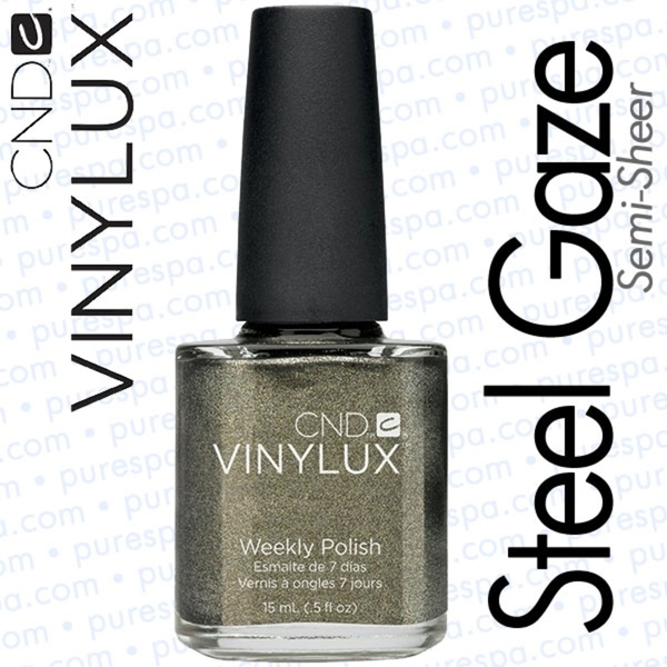 CND VINYLUX Steel Gaze 0.5 oz. (800386)