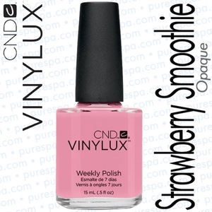 CND VINYLUX Strawberry Smoothie 0.5 oz. (800387)