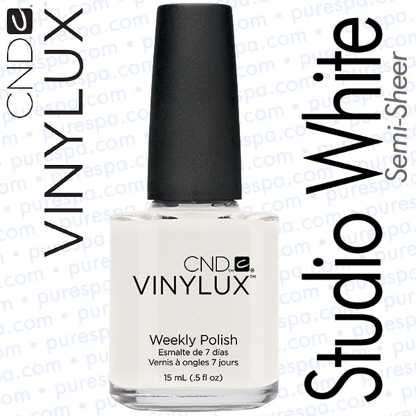 CND VINYLUX Studio White 0.5 oz. (800388)