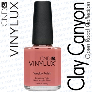 CND VINYLUX Spring 2014 Open Road Collection - Clay Canyon 0.5 oz. (800400)