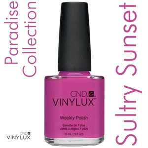 CND VINYLUX 2014 Paradise Summer Collection - Sultry Sunset 0.5 oz. (800405)