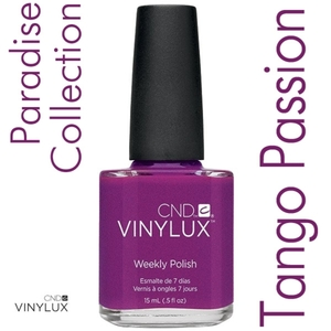 CND VINYLUX 2014 Paradise Summer Collection - Tango Passion 0.5 oz. (800406)
