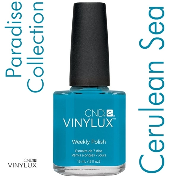 CND VINYLUX 2014 Paradise Summer Collection - Cerulean Sea 0.5 oz. (800408)