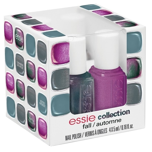 Essie Fall 2013 Collection - Four Piece Mini Color Cube (994237)