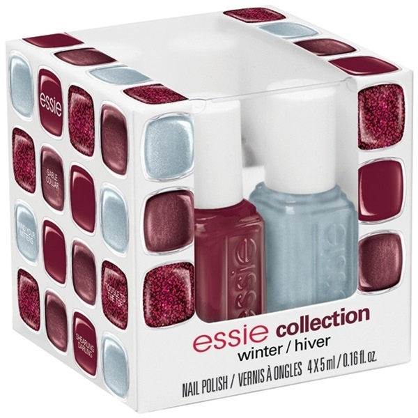 Essie Winter 2013 Collection - Four Piece Mini Color Cube (994239)