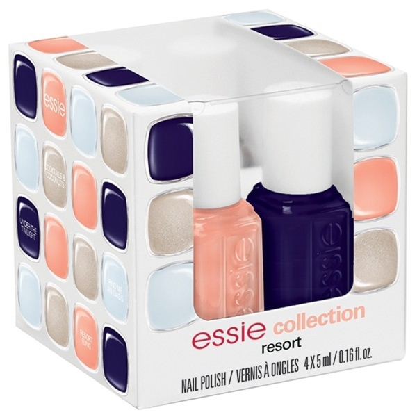 Essie Resort 2014 Collection - 4 Piece Mini Color Cub (994245)