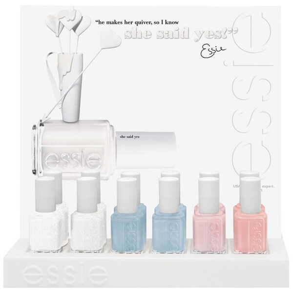 Essie Wedding 2014 Nail Color - 12 Bottle Designer Display (994255)