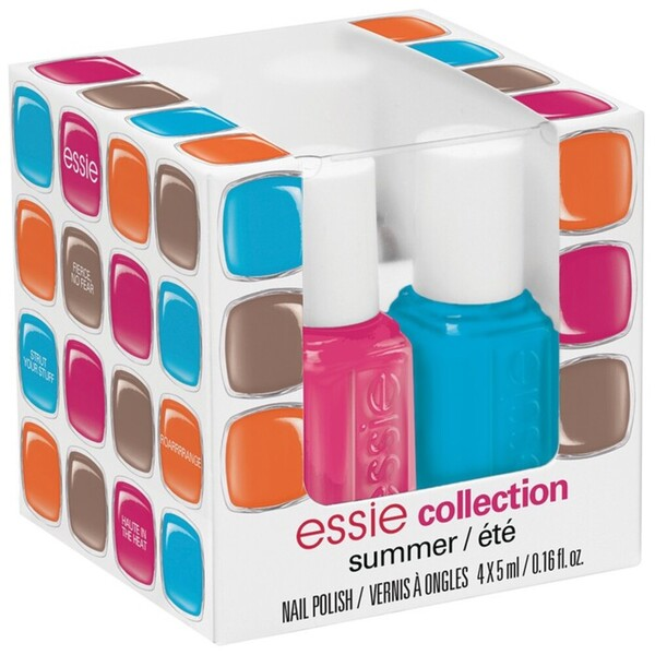 Essie 2014 Summer Collection Nail Color - 4 Piece Mini Cube (994260)