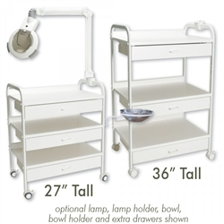 "Facial Kabinet 36"" High High Esthetican's Cart (Ei651)"
