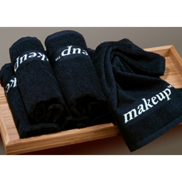 "Black Makeup Washcloths - 100% Turkish Cotton 13"" x 13"" 12 Towels by The Turkish Towel Company ()"
