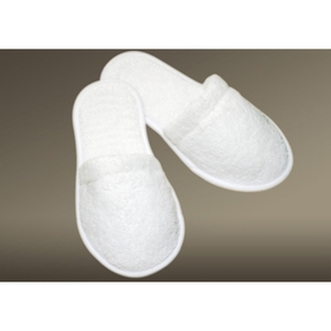 Classic Cotton Terry Spa Slippers by The Turkish Towel Company ()