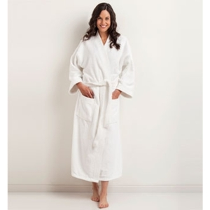 Kimono Terry Bathrobe by The Turkish Towel Company ()