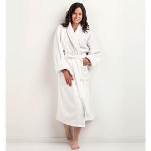 Shawl Collar Terry Bathrobe by The Turkish Towel Company ()