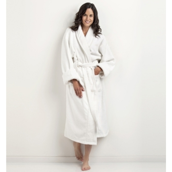 Shawl Collar Bathrobe by The Turkish Towel Company ()
