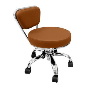 Merel Pedicure Stool Cappuccino (LS103-11-CPO)