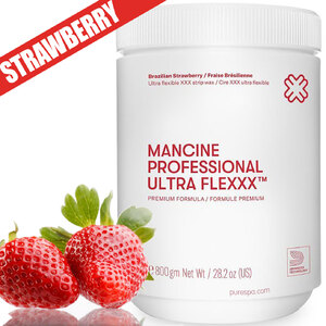 Ultra Flexxx™ Brazilian Strawberry Strip Wax - Premium Strawberry XXX Wax 1kg 2.2lbs (DSWUFLXS)