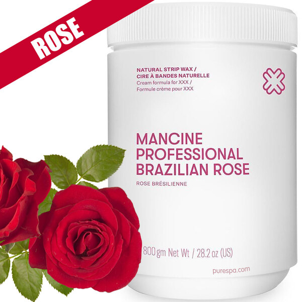 Brazilian Rose Strip Wax - Strip Wax - Cream Formula Developed for XXX 1 kg. 2.2 lbs. (DSWBRK)