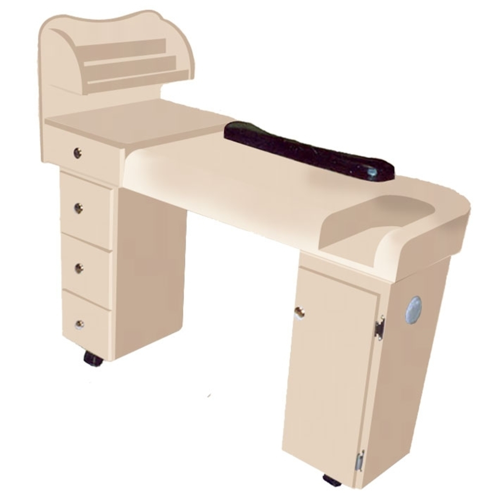 The katy wood finish nail table d 108 for 108th and maple nail salon