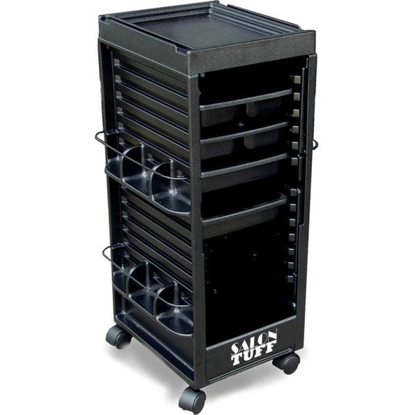 Nico Cart with Open Front 4 Trays by SalonTuff (NC)