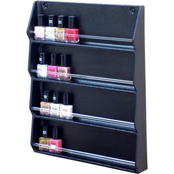 Wall Mount Nail Polish Rack by SalonTuff (NPR-W)