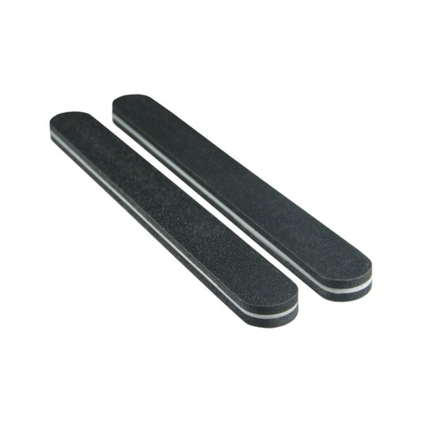 Premium Black Cushion Nail Files - Oreo 120240 Washable 1000 Mega Case (10149-cs)