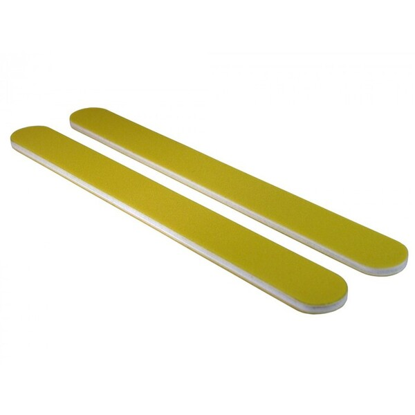 Disinfectable Yellow Rainbow Mylar Nail Files - 240240 2000 Mega Case (10019-cs)