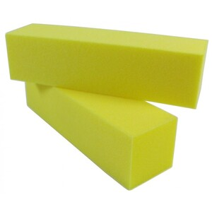 Yellow ManicurePedicure Block - 220 Grit 500 Mega Case (10099-cs)