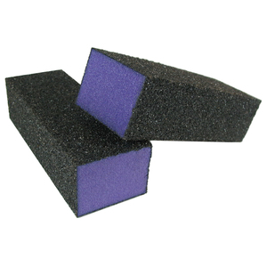 "Purple Pedicure Block X-Coarse 60 Grit 3-34"" - 4-Way 500 Mega Case (10128-cs)"