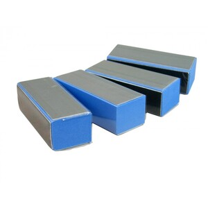 3-Way Blue Buffer Block 500 Mega Case (10046-cs)