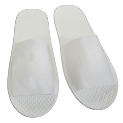 Disposable Open Toe Slippers - Non-Woven Fabric 12 Pair (3DS10WH)