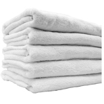 "Egyptian Cotton Bath Towels - 1 Dozen - 27"" x 54"" - White 100% Egyptian Ring Spun Cotton (1BT20WH)"