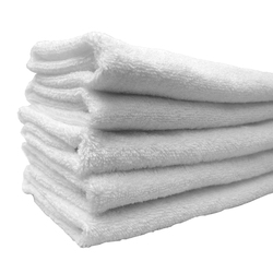 "Egyptian Cotton Hand Towels - 1 Dozen - 16"" x 30"" - White 100% Egyptian Ring Spun Cotton (1HT20WH)"