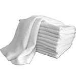 "Multi-Purpose Towels - 1 Dozen - 14"" x 17"" - White 100% Natural Cotton (1MP10WH)"