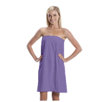 Women's Microfiber Bath Wrap Towel - Lilac 65% Natural Cotton 35% Polyester (4BW30LI)