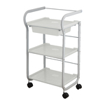 Embla 3 Shelf + 1 Drawer Beauty Trolley (1017)