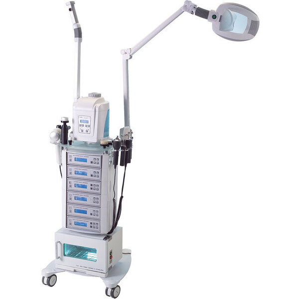 Erla Multi-Function Facial Trolley Unit - 9 Functions Included(3021S)