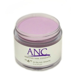 ANC Dip Powder - 3 Olive Grape #4 2 oz. - part of the ANC Acrylic Nails Dipping System (ANCCP004)