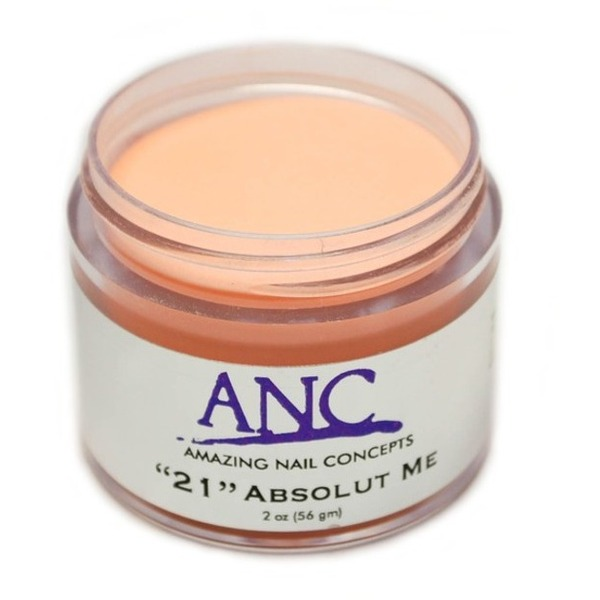 ANC Dip Powder - Absolut Me #21 2 oz. - part of the ANC Acrylic Nails Dipping System (ANCCP021)