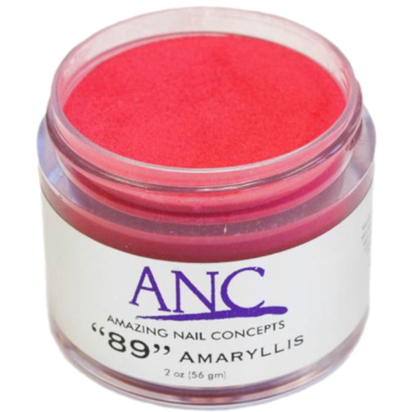 ANC Dip Powder - Amaryllis #89 2 oz. - part of the ANC Acrylic Nails Dipping System (ANCCP089)