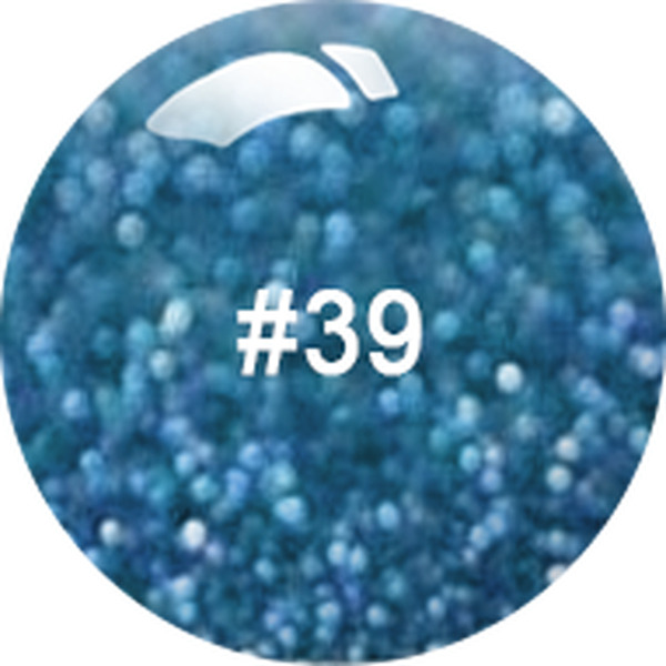 ANC Dip Powder - Blue Topaz #104 2 oz. - part of the ANC Acrylic Nails Dipping System (ANCCPG104)